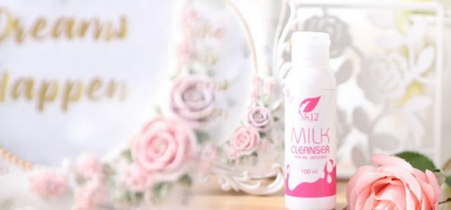 manfaat milk cleanser sr12